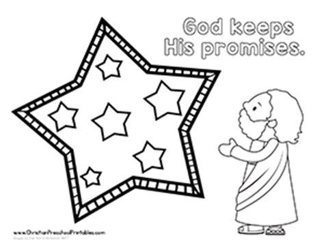 abraham stars coloring page abraham bible printables