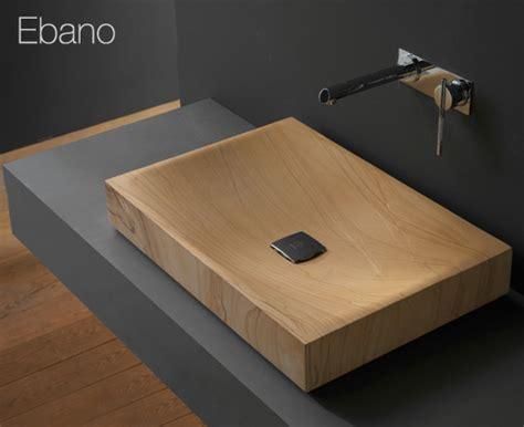 wood bathroom sink wooden bathroom sink