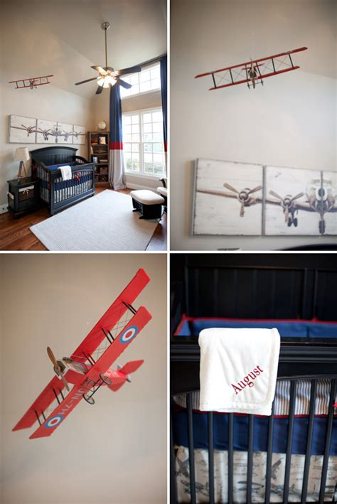 vintage airplane nursery on airplane nursery