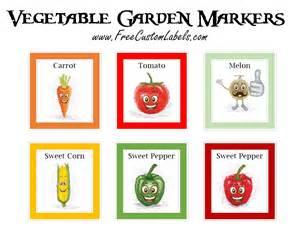 vegetable garden template vegetable garden markers