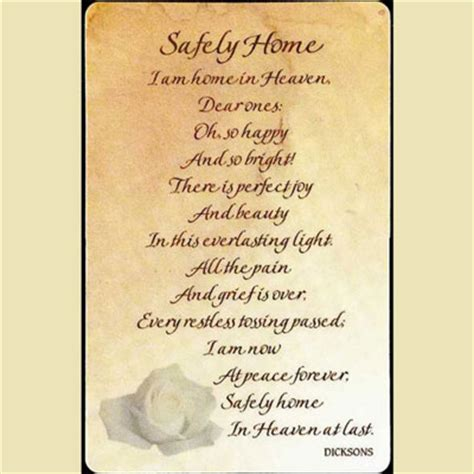 safely home pocket cards christian personalized gifts