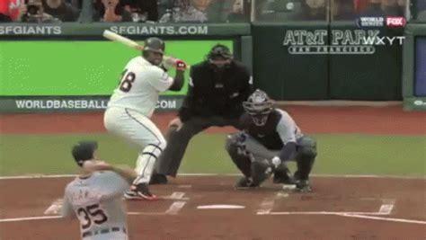 the panda gets a hat trick gif sports baseball