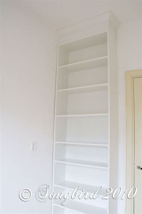 Billy Bookcase Built In With Doors How To Give An Ikea Billy Bookcase A Built In Look Tutorial Ikea Decor S