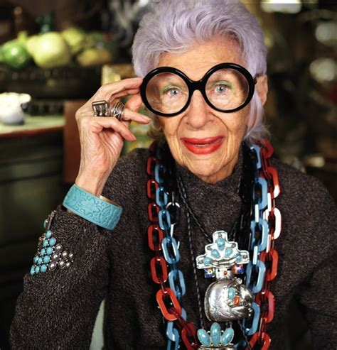 Meet Iris by Style Has No Age Meet Iris Apfel Http Chezagnes