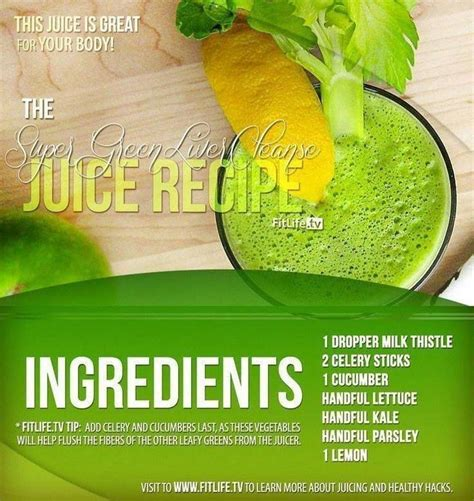 Doing A Liver Detox And Thirsty by The Green Liver Cleanse Recipe Looking For A Juice