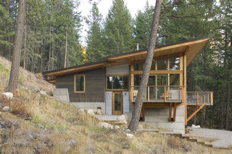 wintergreen cabin in washington e architect