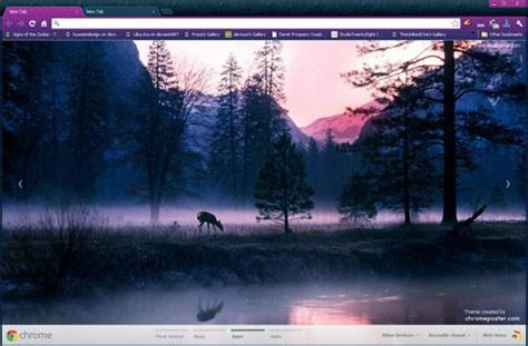 cool themes for google chrome very cool mountain google chrome theme install http