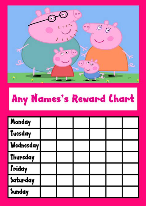 picture of the peppa pig reward chart download the free 7 best images of peppa pig chore chart peppa pig reward