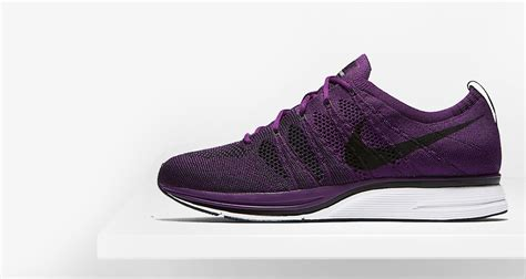 fly knit nikes nike flyknit trainer quot purple quot release date