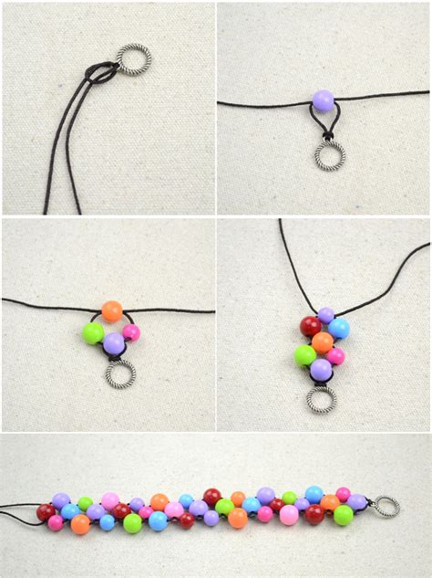How To Make A Handmade Necklace - handmade bracelet pictures photos and images for