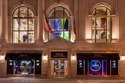New Window Shopping From Ralph by Ralph Creates Holographic And Interactive Window