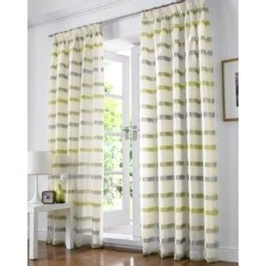 green and grey curtains green grey white striped voile curtains decor ideas