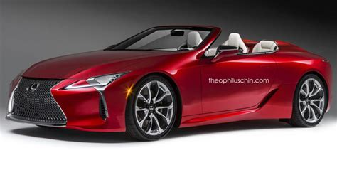 new lexus is convertible lexus might make a convertible lc but no f model before