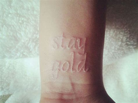 permanent gold tattoo 28 permanent metallic tattoos gold tattoos permanent