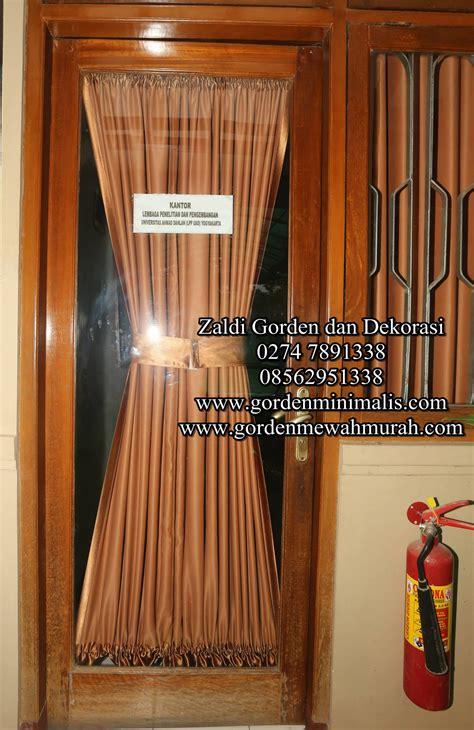 Gorden Pita gorden pita untuk jendela kecil bahan blackout model