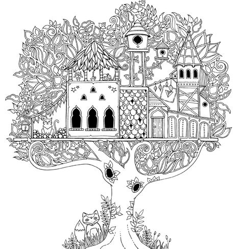coloring pages for adults enchanted artist johanna basford enchanted forest coloring pages