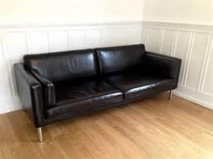 ikea sofa leder ikea s 228 ter ledersofa in osnabr 252 ck polster sessel