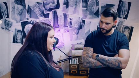 tattoo fixers unhappy watch delighted tattoo fixers guest have her terrible