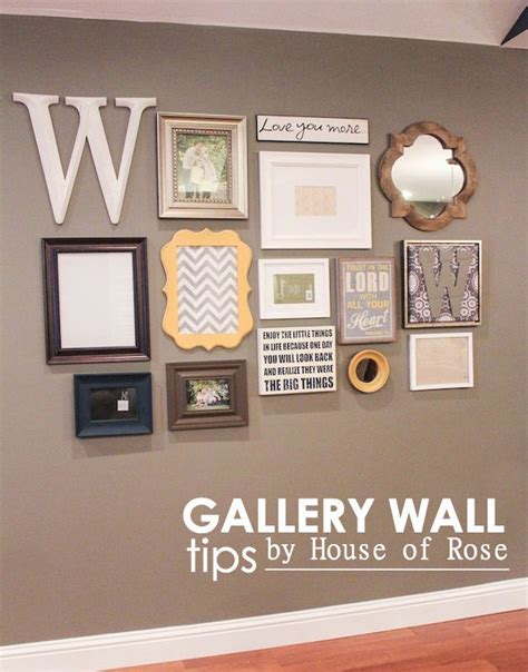 gallery wall how to gallery wall mirror letters and or word mix of curves