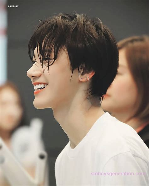 Poster Kpop A4 Nct Taeyong ten s amazing side profile and smile nct