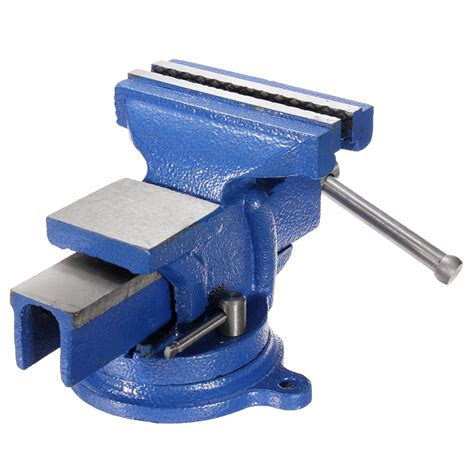 5 inch bench vise 5 inch bench vise with anvil swivel locking base table top