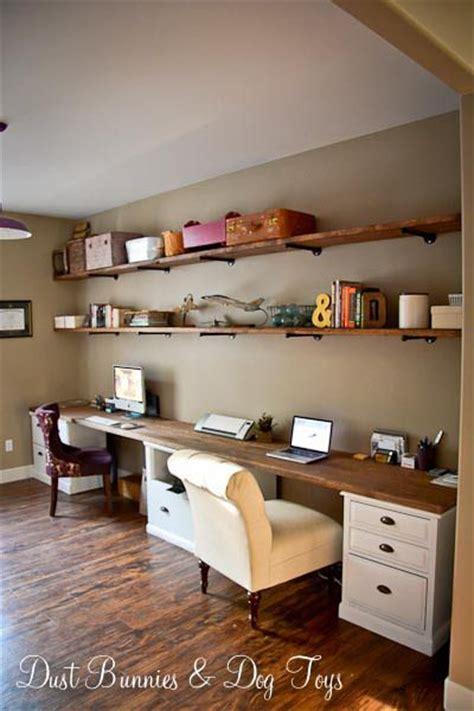 Slim Computer Desk Best 25 Long Desk Ideas On Pinterest Home Study Rooms