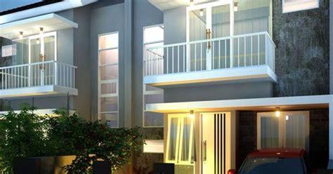desain dress depan belakang desain rumah 2 lantai dengan konsep minimalis ini memiliki