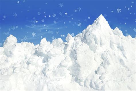 picture of snow mountain of snow photograph by sandra cunningham