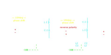 Pasif Xover For Midbass And Hi Frequency Fullrange Drivers crossovers passive crossovers