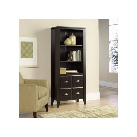 Cheap Bookshelves With Doors Discount Shoal Creek Bookcase With Doors Jamocha Review