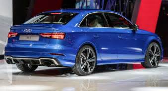 audi s new rs3 sedan could make sportback owners remorseful