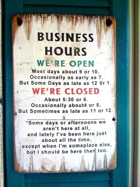 party themes operating hours 10 best salon opening hours signs images on pinterest