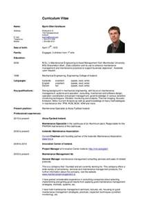 Resume Or Cv by Curriculum Vitae Bei Cv