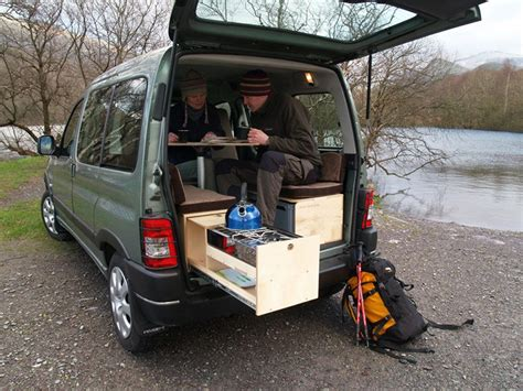 Cheap Kitchen Tables For Small Spaces by 5 Ingenious European Camper In A Box Designs