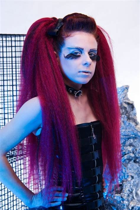 synthetic dreads dallas hair falls wool falls dread falls hair extensions gothic