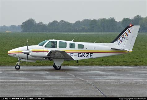 Amaury De La Grange by F Gkze Beechcraft 58 Baron Ecole De Pilotage Amaury De
