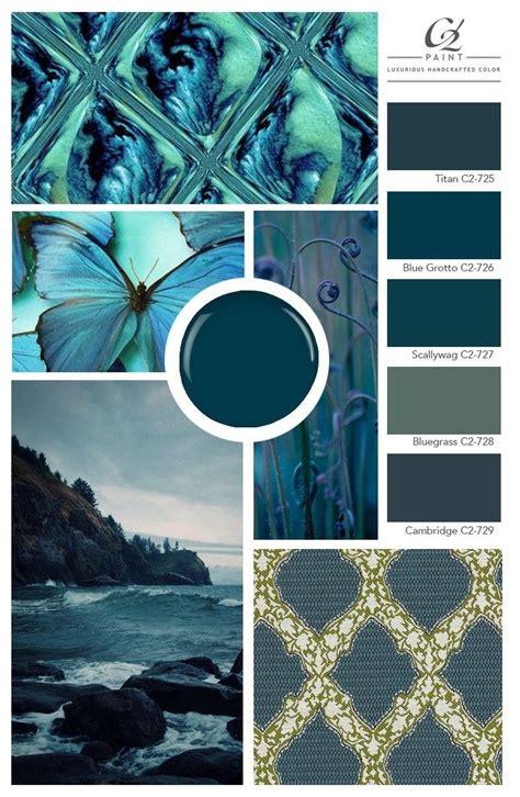 blue mood board inspiration color confidential