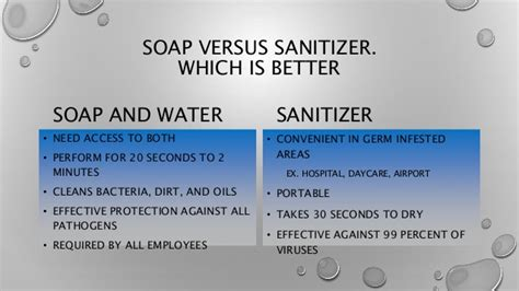 Alcohol Faucet Soap And Water Or Alcohol Based And Sanitizer
