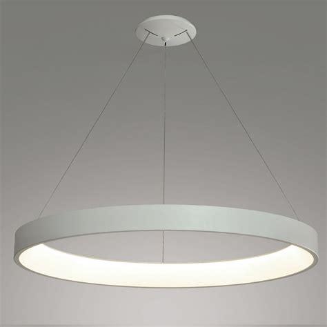 Le Suspension Led by Suspension Led Design En Forme D Anneau Diam 232 Tre 900 Mm