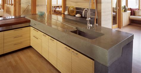 Kitchen Concrete Countertop Gallery Concrete Exchange Concrete Kitchen Countertops