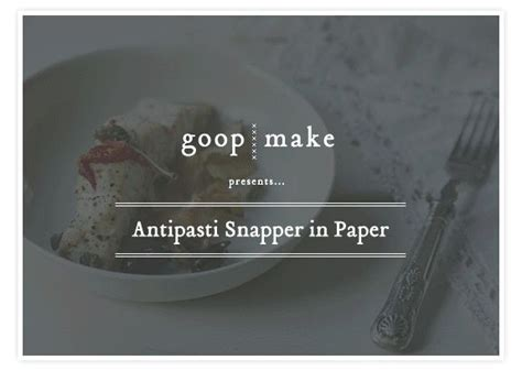 How To Make A Snapper Out Of Paper - antipasti snapper in paper snapper lemon cherry