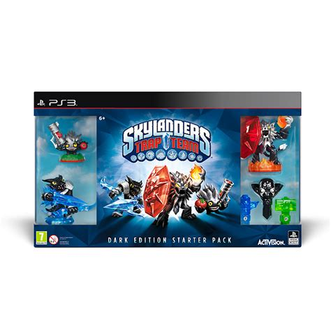 skylanders trap team kopen ps3 skylanders trap team starter pack dark edition kopen voor