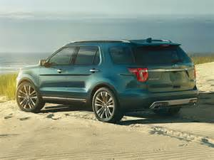 new 2017 ford explorer price photos reviews safety ratings features