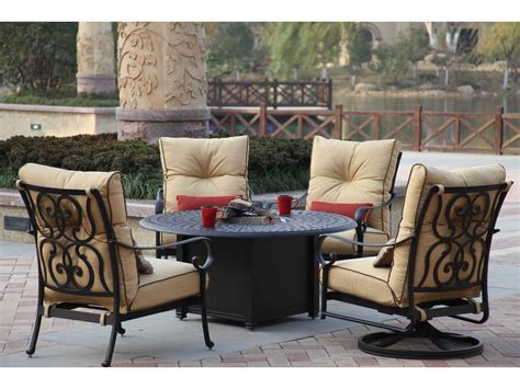 propane pit tables and chairs decorative table