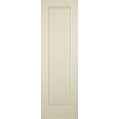 Primed Interior Doors Builder S Choice 24 In X 80 In 1 Panel Shaker Solid Primed Pine Single Prehung Interior