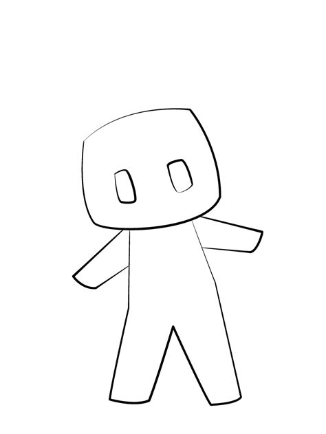 chibi minecraft coloring pages chibi minecraft base read desc please c by maxi mines