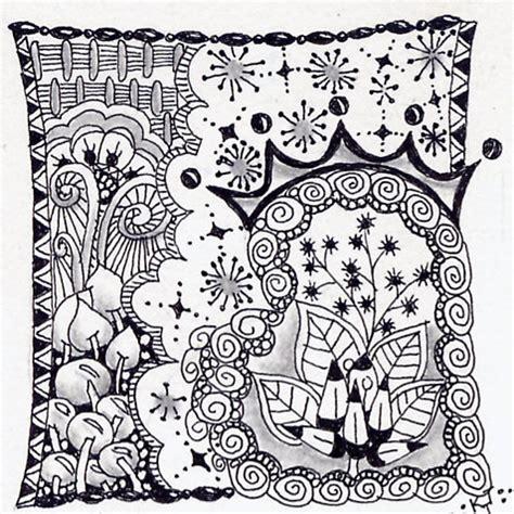 doodle pattern tiles king of my heart official zentangle tile nft doodles