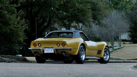 1971 corvette restoration 1971 chevrolet corvette ls6 convertible f193 indy 2015