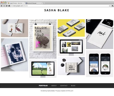 layout blog wix 10 free creative website templates with killer design