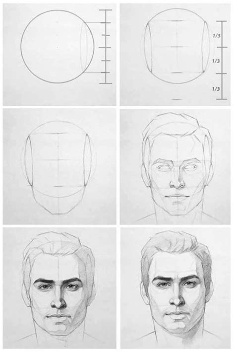 Portrait Pencil Drawing Tutorial Pdf